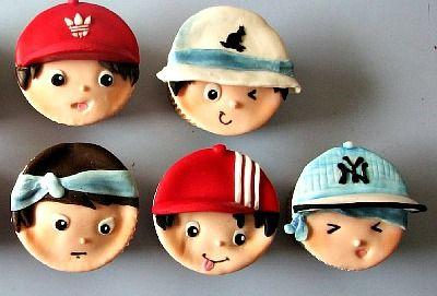 Cupcake meninos