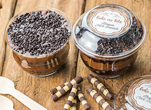 Bolo de Pote Chocolate