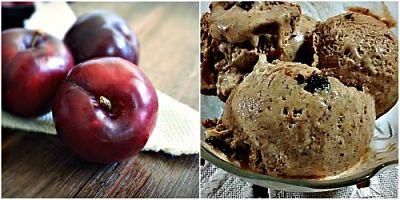 Ameixa - sorvete